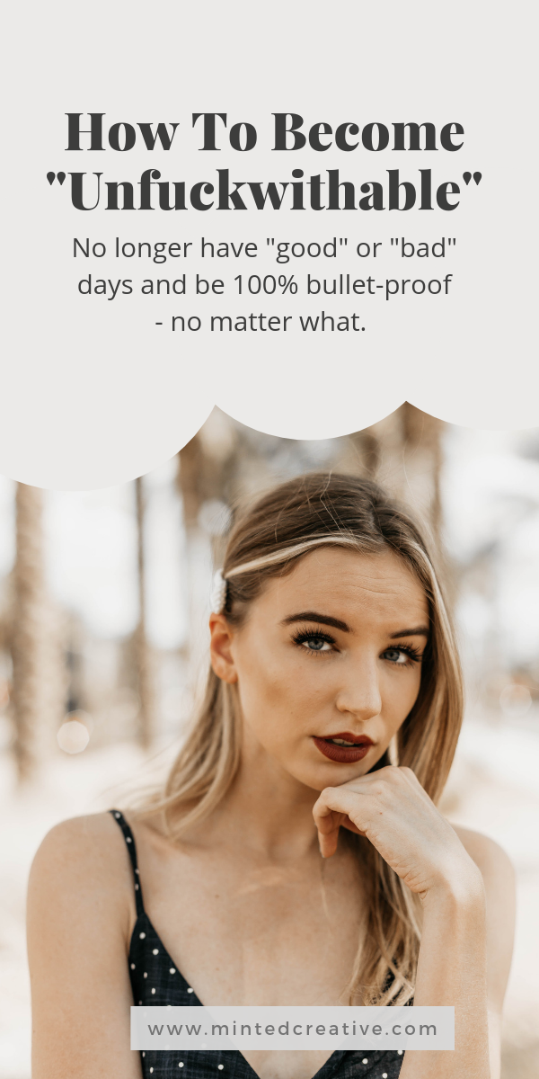 portrait of brunette with text overlay - How To Become